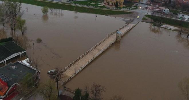 Tunca Köprüsü trafiğe kapatıldı
