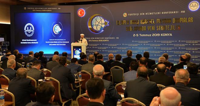 8. Yurt dışı Din Hizmetleri Konferansı başladı