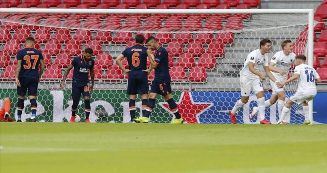 Başakşehir, Avrupa kupalarına veda etti