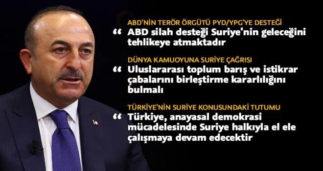 Suriye'de barış nasıl sağlanır, Dışişleri Bakanı Çavuşoğlu yazdı