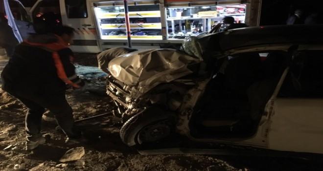 Feci kaza! 2 ölü, 4 yaralı