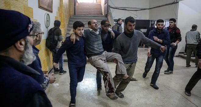 Doğu Guta'daki binlerce hastadan 25'i tahliye edildi