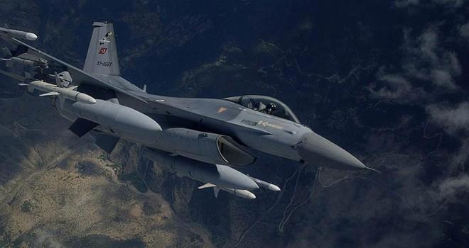 Irak'ın kuzeyinde terör hedeflerine hava harekatı