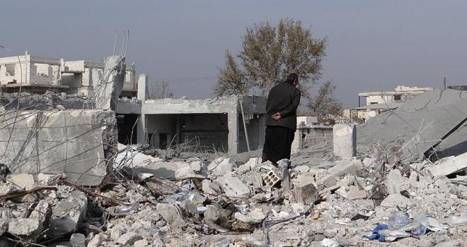 Suriye'de koalisyon güçlerinin saldırısında 25 sivil öldü