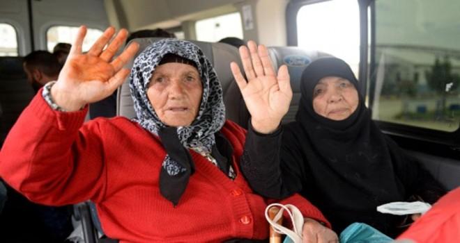Afrin'de eve dönüş sürüyor