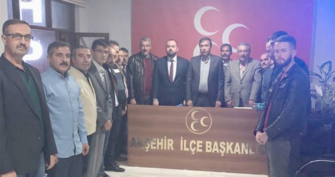 MHP Akşehir'degörev dağılımı
