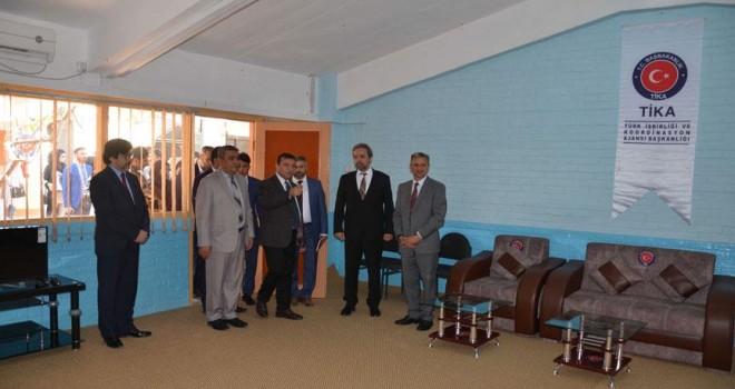 TİKA'dan Afganistan'a eğitim desteği