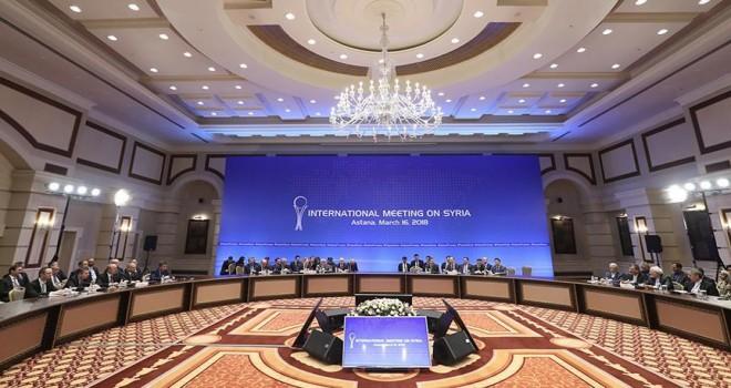 Astana'da Suriye konulu dışişleri bakanları toplantısı başladı
