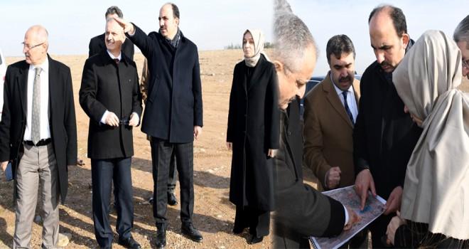 Konya Teknik Üniversitesi Kampüs alanında inceleme