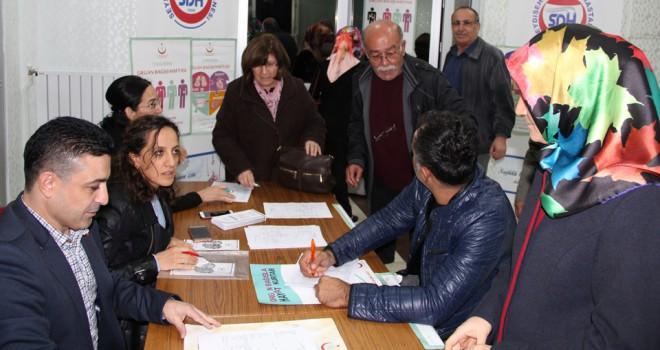 Seydişehir'de 50 kişiorganlarını bağışladı