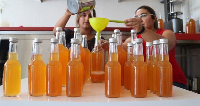 Şifalı üzüm suyu kadınların elinde hayat buldu