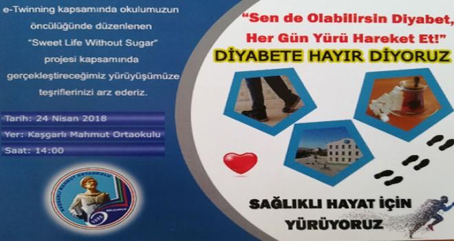 """""""Diyabete Hayır"""" yürüyüşü"""