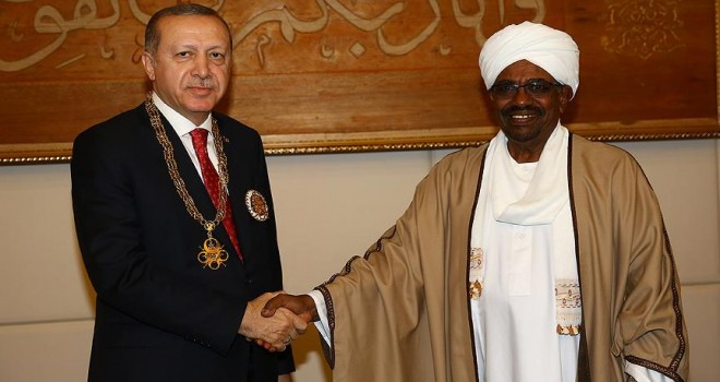 Erdoğan'ın Sudan ziyareti manşetlerde