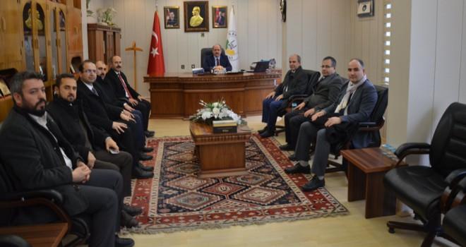 Koç'tan, BaşkanYaka'ya ziyaret