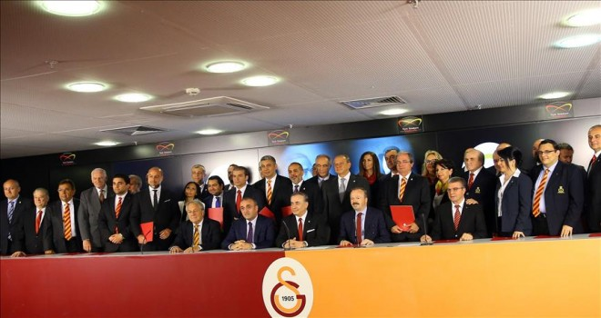 Galatasaray Kulübünden teşekkür mesajı