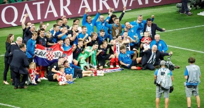 Dünya Kupası'nda finalin adı Fransa-Hırvatistan