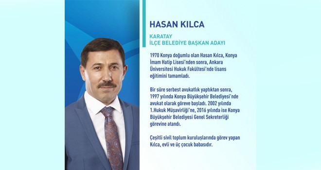 Karatay AK Parti adayı Hasan Kılca kazandı