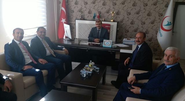 Başkan Çiftçi  İl Sağlık Müdürü Moğulkoçu ziyaret etti