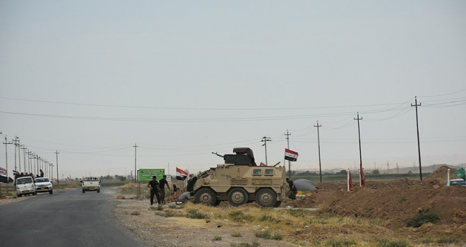 Irak güçleri DEAŞın elindeki son bölgeye girdi