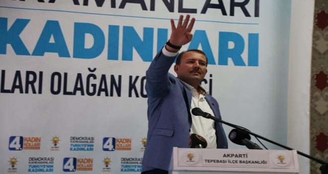 AK Parti Tepebaşı İlçe Kadın Kolları 4. Olağan Kongresi