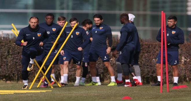 Kayserisporda Gençlerbirliği maçı hazırlıkları