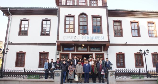 Üniversite öğrencileri Çubuk Müzesini gezdi