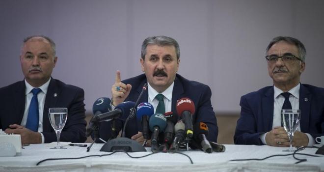 BBP Genel Başkanı Destici: Yeni cumhurbaşkanlığı sistemiyle istikrar sağlanmış olmaktadır