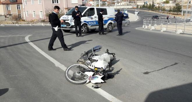 Karamanda trafik kazası: 1 yaralı