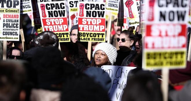ABDde Kara Cuma protestosu