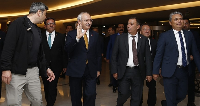 CHP Genel Başkanı Kılıçdaroğlu Antalyada
