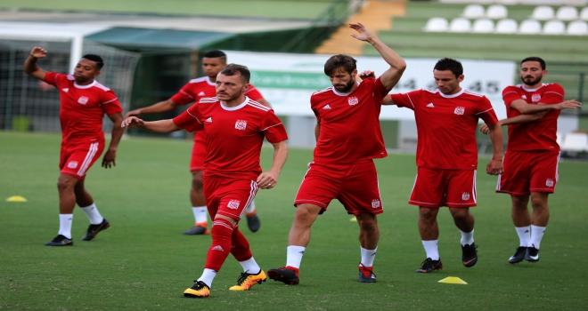 Sivassporda Akhisarspor maçı hazırlıkları