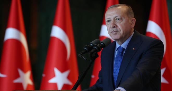 Cumhurbaşkanı Erdoğandan Zafer Bayramı mesajı