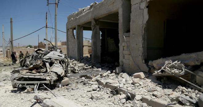 Azezde bombalı saldırı