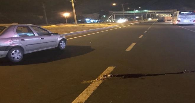 Kırşehirde trafik kazası: 1 yaralı