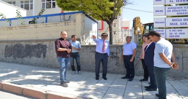 Mahalle parkı ilkokul öğrencilerine tahsis edildi