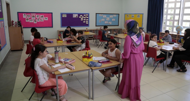 Erbil Uluslararası Maarif Okulu eğitime başladı