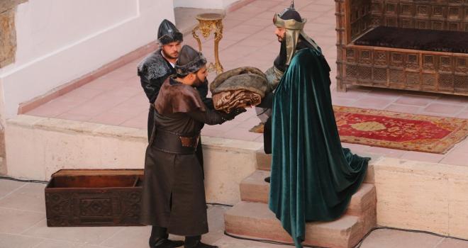 3. Alaaddinin temsili beratı Söğüte gönderildi