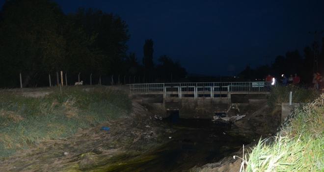 Eskişehirde sulama kanalında ceset bulundu