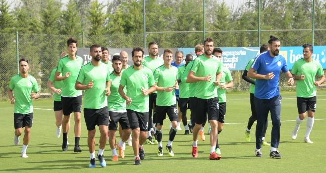 Atiker Konyaspor, Fenerbahçe maçı hazırlıklarını sürdürdü
