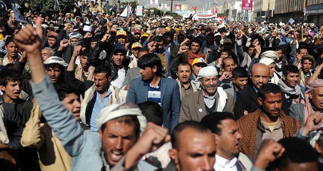 Yemen hükümetinden göstericilere çağrı
