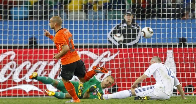 Sneijder milli takıma veda etti