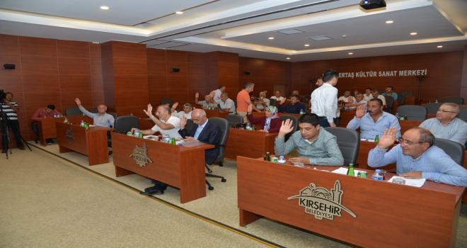 Kırşehir Belediyesi Meclis toplantısı yapıldı