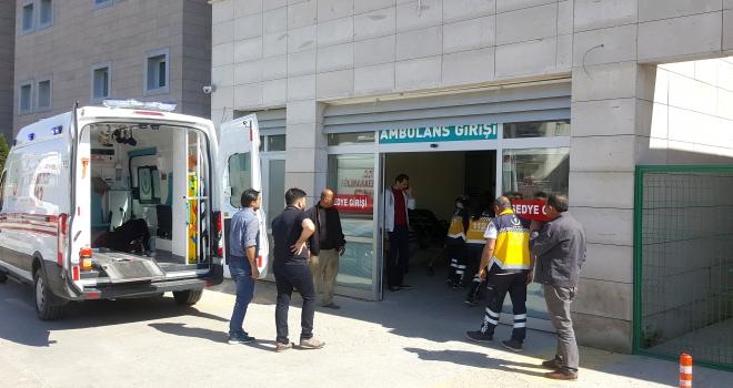 Kırşehirde minibüsün çarptığı yaya öldü