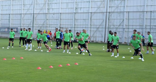 Atiker Konyasporda Fenerbahçe maçı hazırlıkları