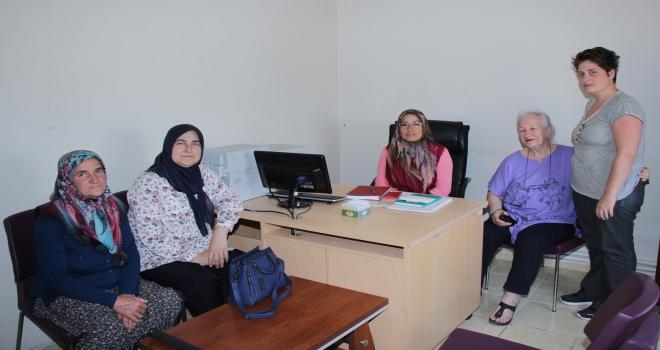 Ayaş Kadınlar Derneğinden fabrika ziyareti