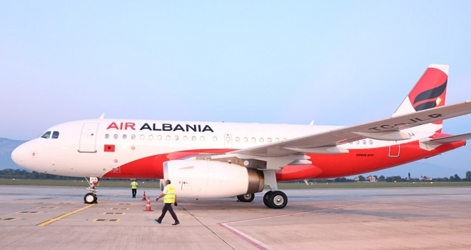 Arnavutluk ilk havayolu şirketi Air Albaniaya kavuştu