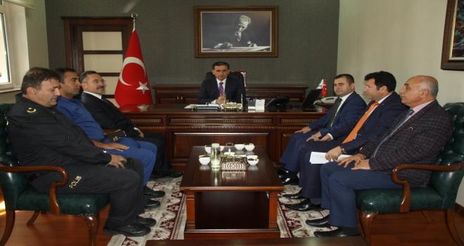 Ankara Valisi Topaca, Çubukta incelemelerde bulundu