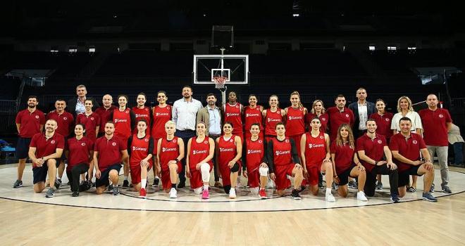 A Milli Kadın Basketbol Takımı Dünya Kupasına hazır