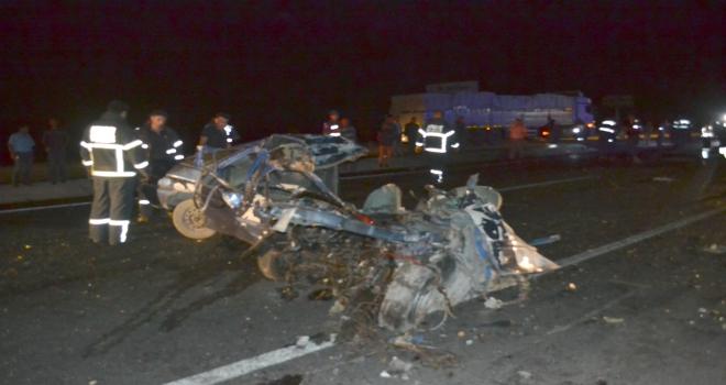 Aksarayda trafik kazası: 2 ölü