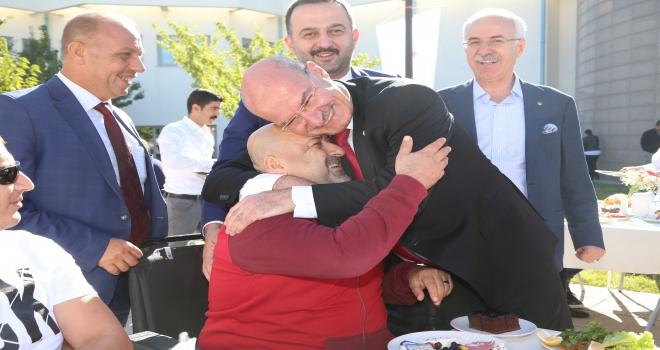 ATO yönetimi Gaziler Günü etkinliğine katıldı